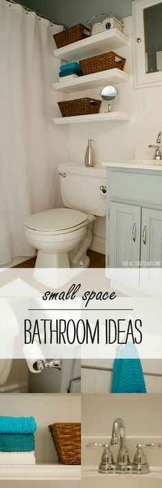 Small Bathroom Design, Organization Ideas