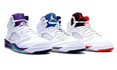 Grape 5's & Laney 5's & Fire Red 5's