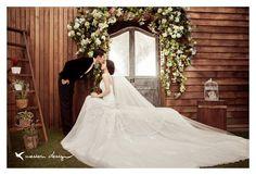 甜蜜至極的韓風婚紗照 : 我願意 yes i do|新娘收集婚紗照,禮服照最棒的小工具
