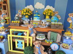 Festa Provençal - Site Oficial: Urso aviador! Baby Shower Oso, Baby Shower Games, Girl Birthday, Birthday Parties, Children, Kids, Party, Lucca, Babyshower