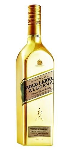 Johnnie Walker Scotch Gold Label Reserve Limited Edition (Liter Bottle) is in stock and for sale at Wine Chateau . WineChateau® for Fine Wines Good Whiskey, Scotch Whiskey, Bourbon Whiskey, Gold Bottles, Liquor Bottles, Booze Drink, Fun Drinks, Beverages, Wine And Liquor