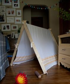 This is (I think!) the last of my birthday related posts for this year! About time, right? :) I wanted to make Baby B a tent that we could ...