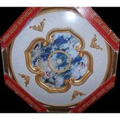 """CCMO-2008-RD (Michelangelo Ceiling Medallion) 43"""" buy it NOW at FineArtDecostore.com"""
