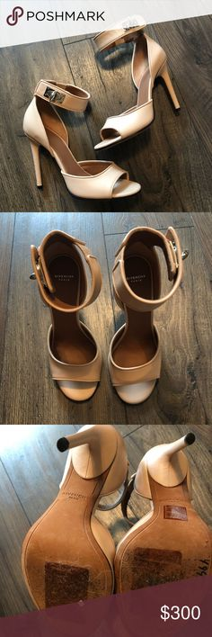 733198a5f96b Givenchy Nude Shark Tooth Heels Sz 36 Purchased from Nordstrom Rack! Slight  wear on bottom of shoe from people trying on