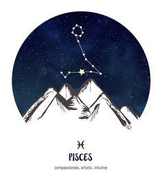 Pisces ~ compassionate, artistic, intuitive