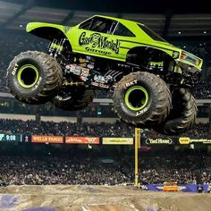 #mulpix If you're in San Diego, check out the Gas Monkey Garage Monster Jam truck tonight! If you're there, post a picture of our truck or our driver BJ Johnson and use the hashtag #gmgmonsterjam for a chance to win a prize! (photo from Monster Jam Facebook page) #gasmonkeygarage #fastnloud #monsterjam