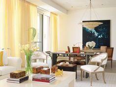 Beach Living Room by Aman & Carson in Palm Beach, Florida