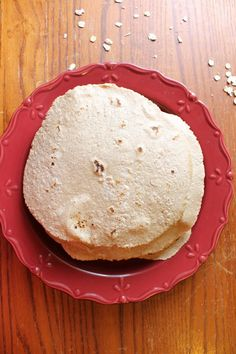 Gluten-Free Oat Wraps | Natural Chow | http://naturalchow.com