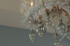 Swinging Chandelier Ornaments