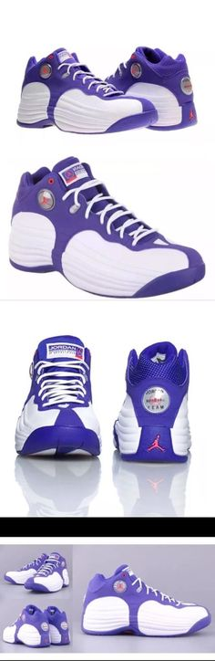 premium selection 4b97a 232fe Basketball  New W Box Size 12 Mens Air Jordan Jumpman Team 1 Purple White