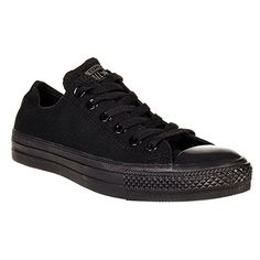 Converse Unisex-adults All Star Ox Shoes - 11 B(M) US Womens / 9 D(M) US Mens, (Mono Black)