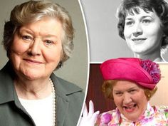 Patricia Routledge: Life in pictures as Keeping Up Appearances star turns 88 Young Actresses, British Actresses, British Actors, Actors & Actresses, British Tv Comedies, British Comedy, I See Stars, Keeping Up Appearances, Keep Up