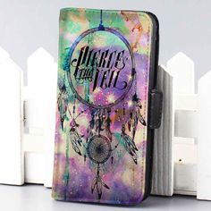 pierce the veil dreamcatcher galaxy music wallet case for iphone 4,4s,5,5s,5c,6 and samsung galaxy s3,s4,s5 - LSNCONECALL.COM