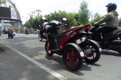 Honda Vario 125, Trike