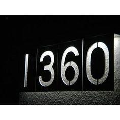 solar led address
