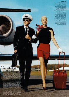 Raquel Zimmermann and Aaron Tveit photographed by Norman Jean Roy for Vogue, January Norman Jean Roy, Outfits Winter, Raquel Zimmermann, Look Office, Aaron Tveit, Fear Of Flying, Louis Vuitton, Vogue Us, Glamour