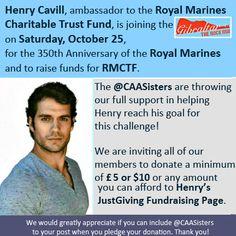#HenryCavill needs your help now! Support him donating today at https://www.justgiving.com/henrycavill/. #GibRockRun @RMCTF #henrycavill #superman #manofsteel #batmanvsuperman