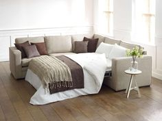 If you want to have a sofa bed, you can get ideas from the following photos.