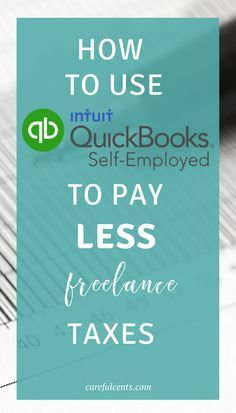 Wow, I didn't know you could bundle TurboTax Self Employed and QuickBooks Self Employed to pay less taxes as a freelancer! Check out this guide for switching to QBSE to lower your business taxes and get your money back on track today. These finance tips r