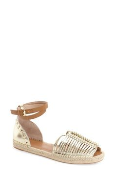 French Connection 'Usha' Huarache Ankle Strap Sandal (Women) available at #Nordstrom