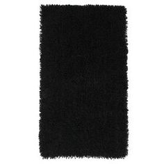 Picture of Black Shag Rug 5 X 7 ft