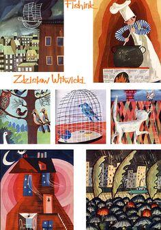 https://fishinkblog.com/2014/07/23/zdzislaw-witwicki-polish-childrens-book-illustrator/