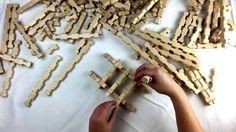 Steku natur | Konstruktionsmaterial aus Holz - YouTube Material, Hair Accessories, News, Videos, Youtube, Nature, Timber Wood, Video Clip, Hair Accessory