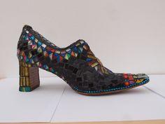 mosaic shoe