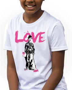 https://www.navdari.com/products-fk00001-CharleChaplnLoveKidsTshirt.html #CHARLIECHAPLIN #LOVE #KIDS #TSHIRT #CLOTHING #FORKIDS #SPECIALKIDS #KID #GIRLS #GIRLSTSHIRT