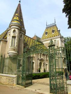 Chateau Corton-Andre - Burgundy, Cote d'Or. Aha- I have been there & tasted some Corton wines!