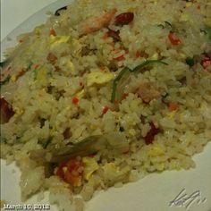 炒飯 #fried #rice #chinese #lunch #food #philippines