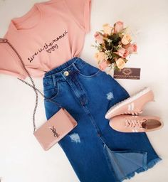 Comfortable casual wear for woman– Just Trendy Girls: Modest Casual Outfits, Girly Outfits, Simple Outfits, Pretty Outfits, Stylish Outfits, Girls Fashion Clothes, Teen Fashion Outfits, Mode Outfits, Cute Fashion