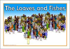 The Loaves And Fishes Visual Aids SB2822
