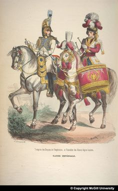The McGill University Napoleon Collection Conquistador, War Drums, Napoleonic Wars, Warfare, Troops, Dragons, Camel, Empire, French