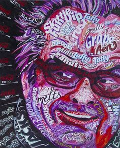 jack nicholson in candy wrappers