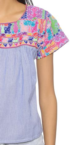Christophe Sauvat Collection Chica Beach Top   SHOPBOP SAVE 25% use Code:SPRING25