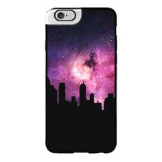 iPhone 6 Plus/6/5/5s/5c Metaluxe Case - Galaxy City ($50) ❤ liked on Polyvore featuring accessories, tech accessories, iphone case, apple iphone cases, iphone cover case and galaxy iphone case