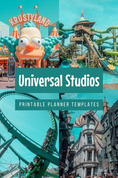 Universal Studios Characters, Universal Studios Parking, Universal Studios Theme Park, Universal Orlando, Disney World Vacation, Florida Vacation, Disney Parks, Vacation Trips, Vacations