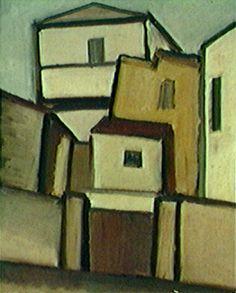 Mario Zanini - Casas, 1960 fonte http://www.itaucultural.org.br