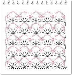 CROCHE COM RECEITAS: diagramas