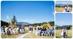 Colorado Wedding Venues - Grandview Terrace Wedding Pictures on a beautiful Colorado day! Meadows at Marshdale