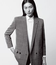 Liu Wen in 'Well Suited' by Daniel Riera for WSJ, May 2014