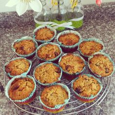 Life is what you're cooking : Worteltaart-muffins