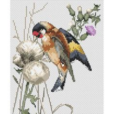 """The Natural World Rich Pickings Counted Cross Stitch Kit-5""""X6.4"""" 16 Count"""