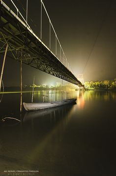 Under Magapit Bridge.... Philippines