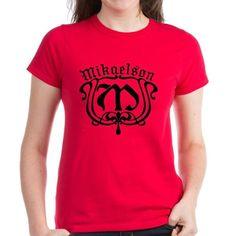 Mikaelson Original Vampire Diaries T-Shirt - For fans of The Vampire Diaries and the Mikaelson vampire siblings (Niklaus, Elijah, Rebekah, Finn, Kol, and Freya) known as The Originals, this design has an ornate monogram M.
