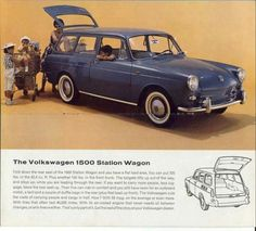 Volkswagen Golf Variant, Volkswagen Type 3, Vw Classic, Best Classic Cars, Vw Variant, Vw Group, Vw Cars, Car Advertising, Vintage Advertisements