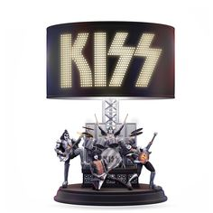 Shop The Bradford Exchange Online for KISS Destroyer Lamp. Filled with songs that rocketed KISS® to the top of the charts, Destroyer was a sonic steamroller that obliterated the million mark in less than a year. Now, on the anniversary of the double. Kiss Merchandise, Kiss Rock Bands, Detroit Rock City, Vintage Kiss, Kiss Art, Heavy Metal Rock, Bradford Exchange, Hot Band, Rockn Roll