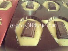 Madeleine moelleuse au cœur chocolat {Recette} - par vivi mams31 blogue