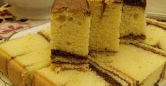 MARBLE BUTTER CAKE     Bahan-bahan:   210g tepung superfine/halus -diayak bersama baking powder  1 sudu teh baking powder  1 sudu teh ... Marbel Cake, Bolu Cake, Butter Cakes, Cake Cookies, Cheesecake, Snacks, Kitchen, Desserts, Recipes